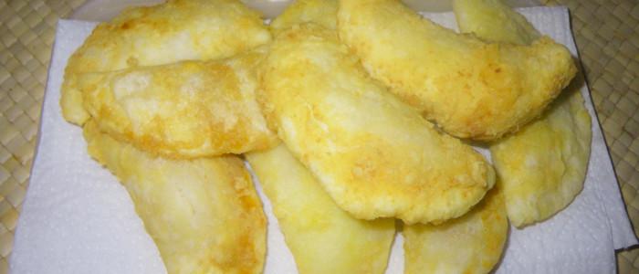 Rissóis sem glúten (recheio de camarão)