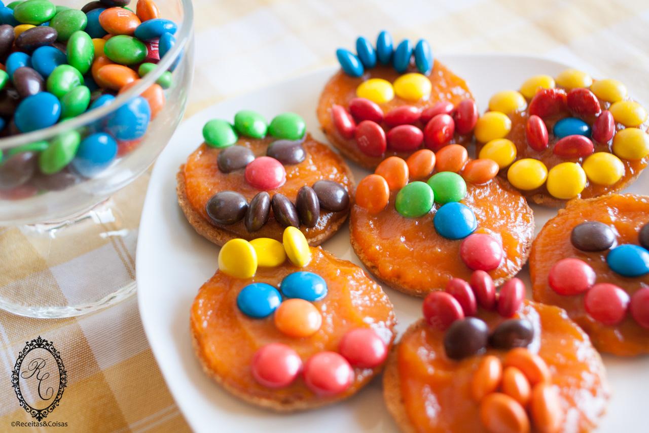 Biscoitos abóbora