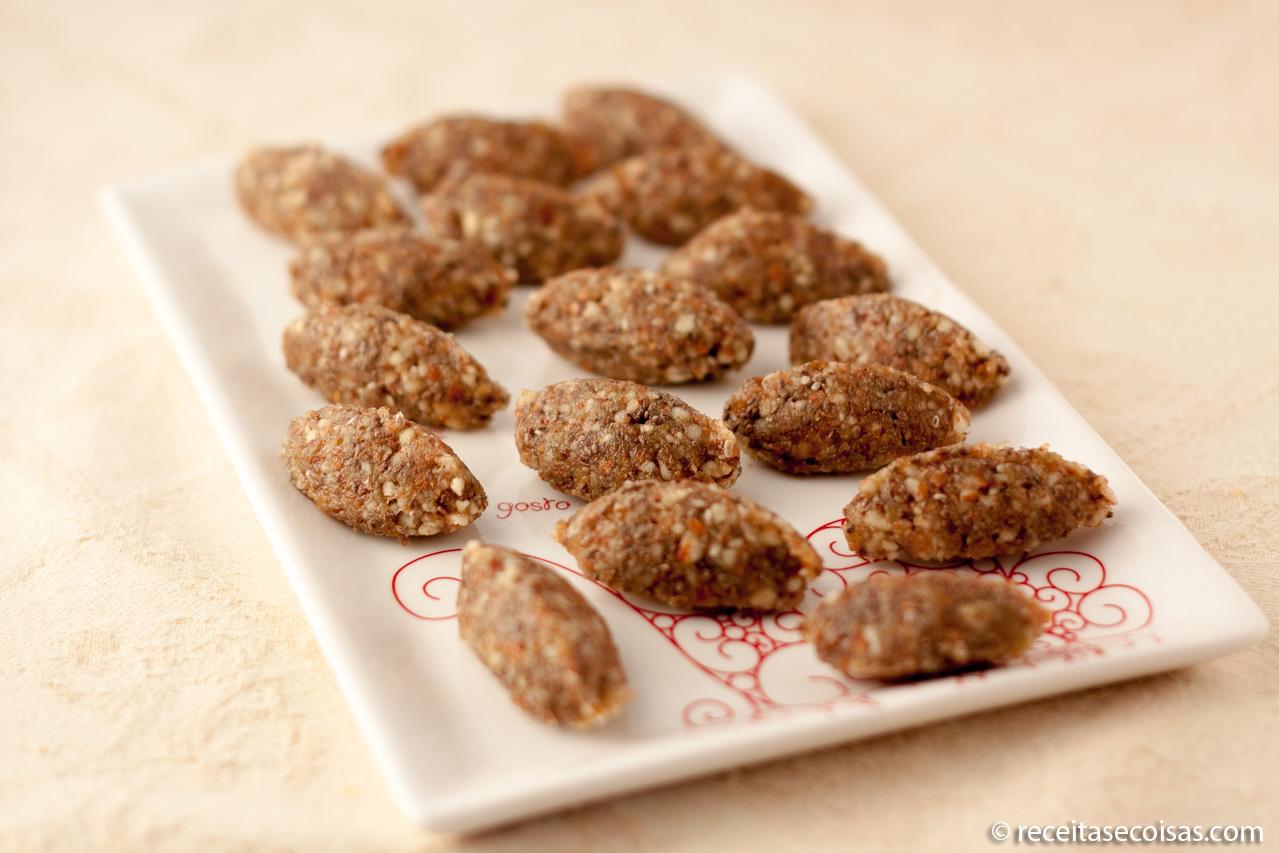 Amendoas saudaveis