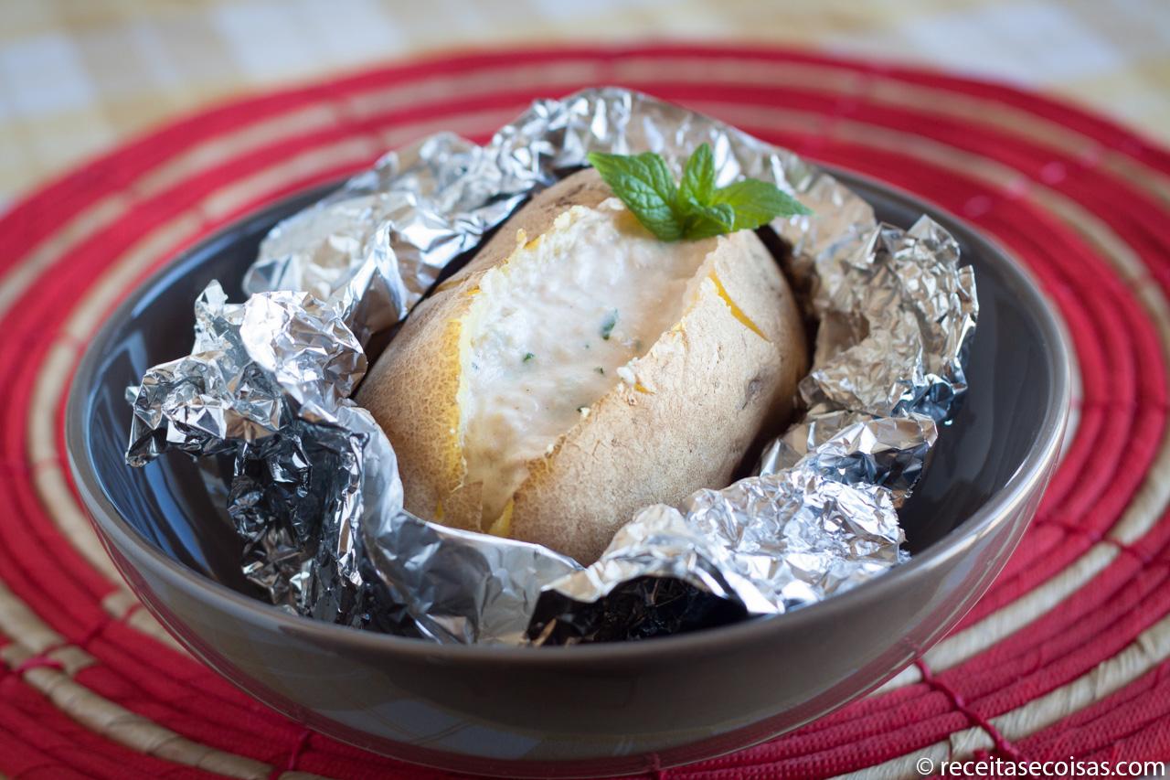 Batatoska com atum – Batata recheada da Tita
